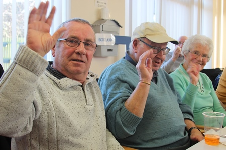 sheltered scheme residents