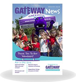 Gateway News Front Cover, Summer 2018