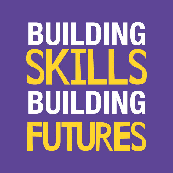 Image saying Building skills Building Futures